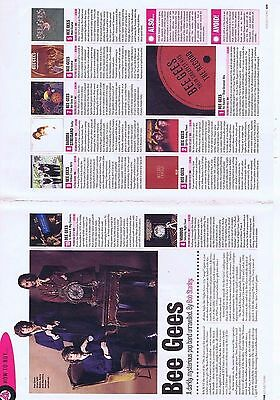 BEE GEES2pageorIginal press clipping