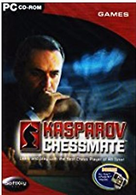 Soft Key Kasparov Chessmate PC Cd Rom Computer Game Learn And Play With The (The Best Chess Game For Pc)