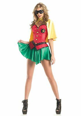 BeWicked 1420C Miss Robin Costume with Cape](Bewicked Costumes)