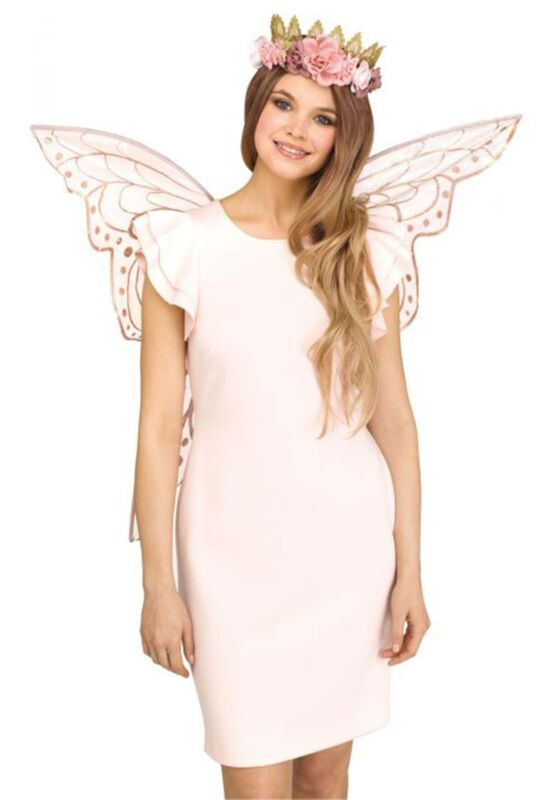 Sparkle Rose Gold Fairy Wings