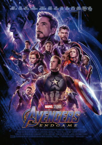 Avengers Endgame Movie Poster Print Art 8x10 11x17 16x20 22x28 24x36 27x40 C