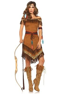 LAG 85398 Leg Avenue Fasching Kostüm Indianerin Squaw Apache Native - Native Indian Princess Kostüm