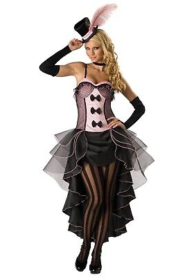 New IN CHARACTER BURLESQUE BABE CABARET SEXY HALLOWEEN COSTUME M MD INCHARACTER](Burlesque Babe Costume)