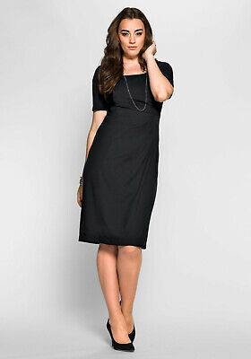 Anna Scholz for sheego Designerkleid, schwarz. NEU!!! KP 119,99 € SALE%%%
