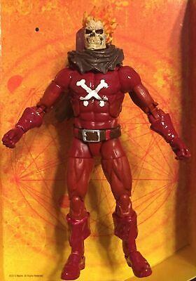 Marvel Legends CUSTOM Blazing Skull - Caliban BAF Captain Man Ghost-rider Torch