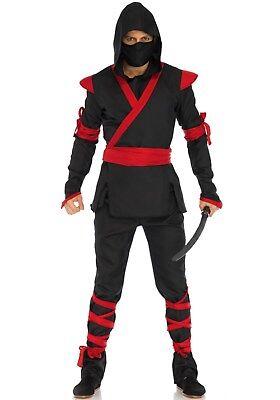 53 Damen Kostüm Ninja Assasin Fighter Kampf Schatten Krieger (Schatten Ninja Kostüm)