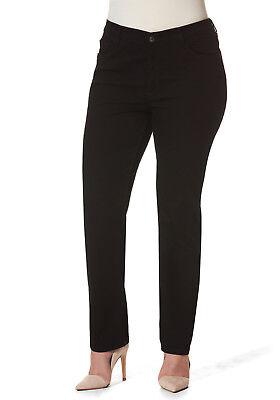 ✅Stooker Dubai Damen Stretch Jeans Hose    Black Denim Wash Wash Denim Hose