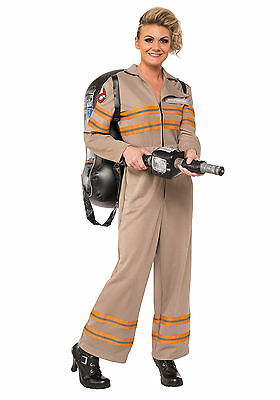 Ghostbusters - Female Ghostbuster Adult Costume - Ghostbusters Female Costume