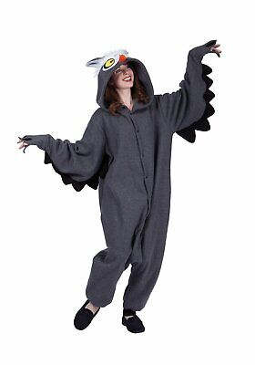 RG Costumes 40040 Oxford Owl Adt Funsie (As Show;One Size)