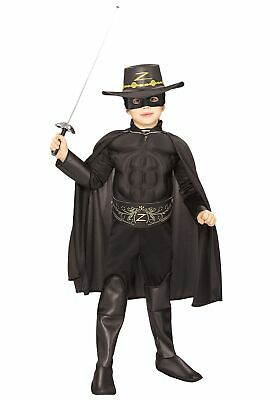 Kids Deluxe Zorro Costume - Deluxe Zorro Costume