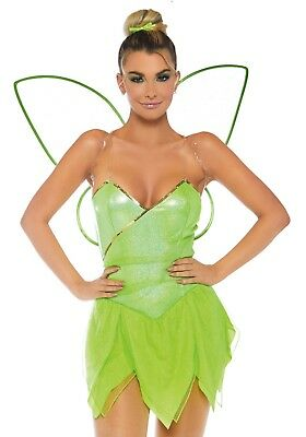 LAG 86749 Leg Avenue Elfe Fee Pretty Pixie Fairy Magierin Fasching Damen Kostüm - Pixie Fee Kostüm