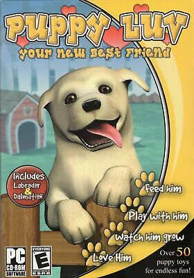 PUPPY LUV (Love) Virtual Petz (PC Game) Someone needs a little love & attention