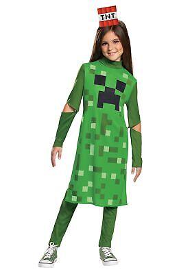Minecraft Girls Creeper Classic - Creeper Girl Kostüm