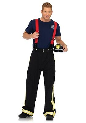 MEN'S FIRE CAPTAIN COSTUME USED SIZE - Fire Captain Kostüm
