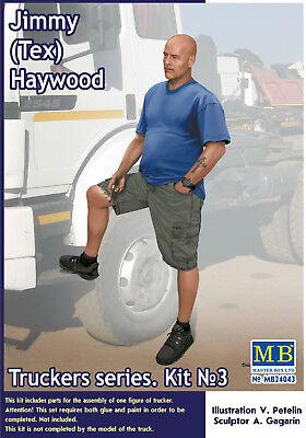24043 Master Box Trucker Series Jimmy (Tex) Haywood 1:24 neu 2018