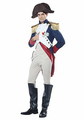 Adult Napoleon French Emperor Mens Costume  - French Men Costume