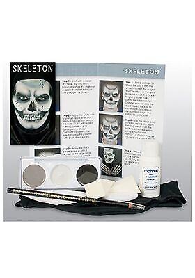 Skeleton Makeup Character Kit - Skeleton Makeup Kit
