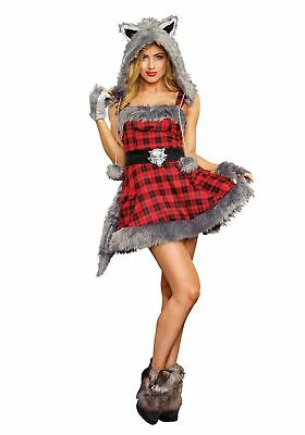 Women's Big Bad Wolf Costume - Womans Wolf Costume