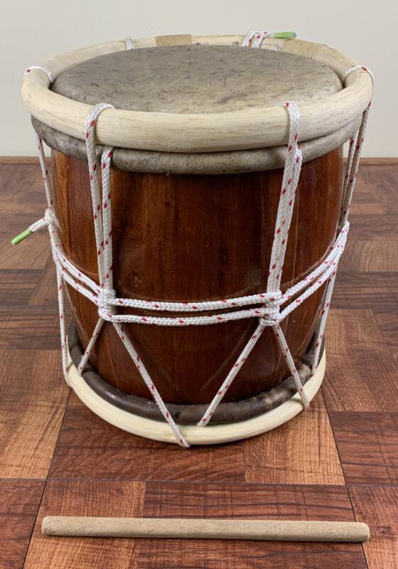 Professional Tambora-Rope Tuned Handcrafted.Tambora De Soga-Para Merengue