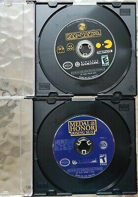 Pac-Man Vs. + Medal Of Honor Rising Sun Disc Disc 2 Both for Nintendo Gamecube