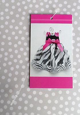 100 Clothing Tags Hangtags Price Tags Cute Dress Gift Tags W 100 Self-lock Ties
