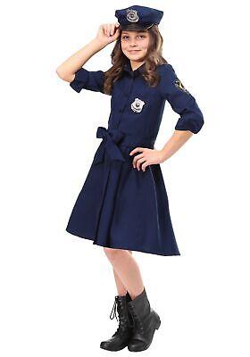 Girl Police Officer Costume (Girl's Helpful Police Officer)