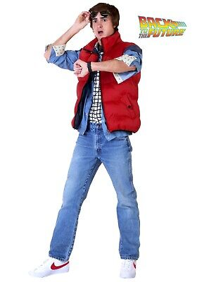 Adult Back to the Future Marty McFly Costume - Marty Mcfly Kostüm Xl