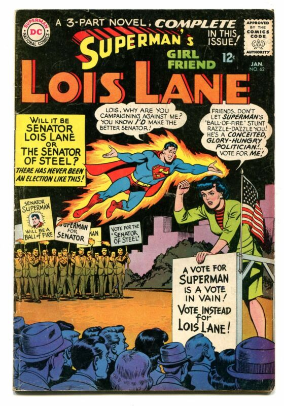 SUPERMANS GIRLFRIEND LOIS LANE # 62