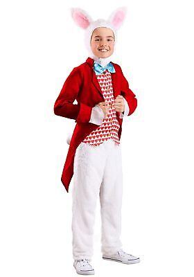 White Rabbit Child Costume (Dignified White Rabbit Costume for)