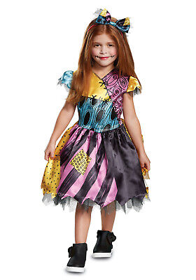Nightmare Before Christmas - Sally Toddler Costume w/Hair Bow](Toddler Christmas Costumes)