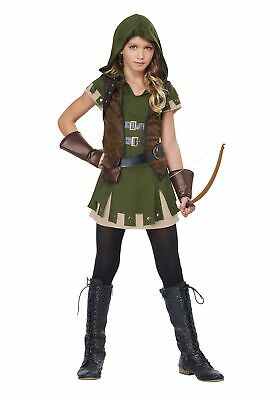 Girl's Miss Robin Hood Costume - Robin Hood Girls Costume
