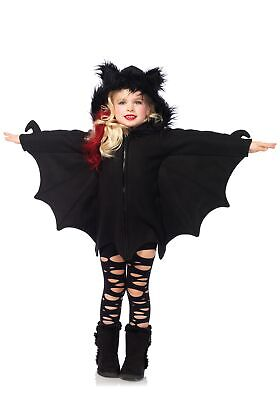 Girl Bat Costume (Girls Cozy Bat Costume)