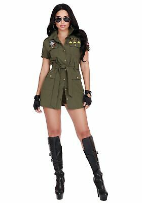 Fighter Pilot Costume Women's - Woman Pilot Costume
