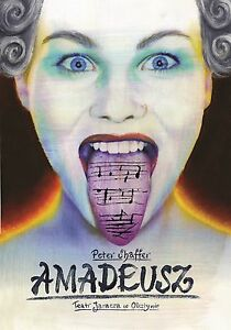 Amadeus - Peter Shaffer - Olbinski. Polish Theater Poster - polska, Polska - Amadeus - Peter Shaffer - Olbinski. Polish Theater Poster - polska, Polska