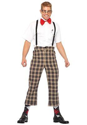 MENS NERDY NERD COSTUME SIZE M - Mens Nerd Costume