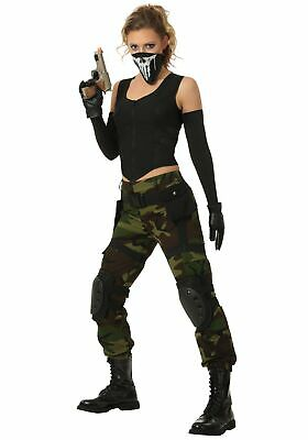 Women's Fighting Soldier Costume](Soldier Woman Costume)
