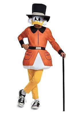 Duck Tales Scrooge McDuck Kids Costume (Duck Tales Costume)