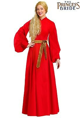 Bride Costume For Women (Women's Princess Bride Buttercup Peasant Dress Costume SIZE SMALL (with)