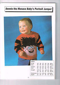 Knitting patterns for sale (used) - Toys, Barney Dinosaur