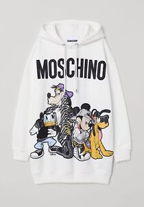 H&Moschino sweater dress SMALL with tags and hanger