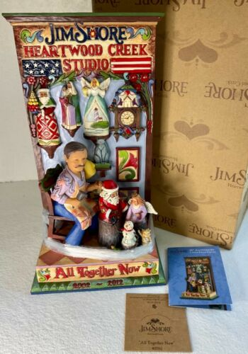"""Heartwood Creek by Jim Shore """"All Together Now"""" LE Figurine 4027762 NEW IN BOX"""