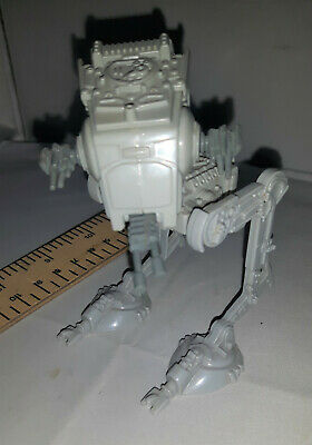 Star Wars miniature plastic scout walker AT-ST vehicle