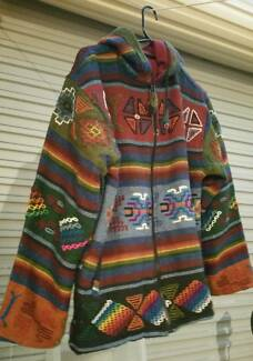 HAND MADE NEPALESE HIPPY JACKET Cloverdale Belmont Area Preview