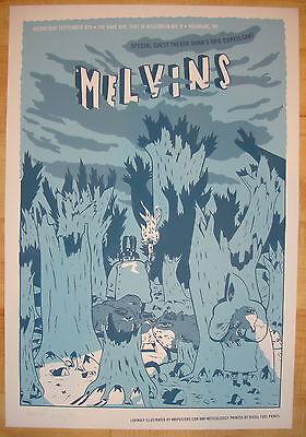 2004 Melvins - Milwaukee - Silkscreen Concert Poster by KMI