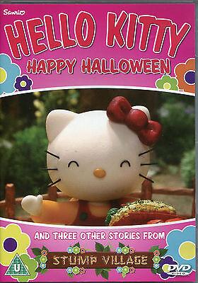 HELLO KITTY DVD (KIDS) HAPPY HALLOWEEN & THREE OTHER STORIES FROM STUMP VILLAGE  (Happy Halloween Kitty)