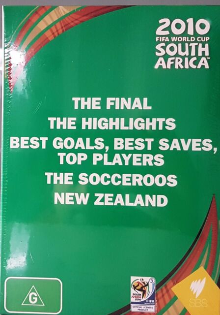 2010 FIFA World Cup South Africa Boxset (DVD, 2010, 9-Disc Set) New  Region 4