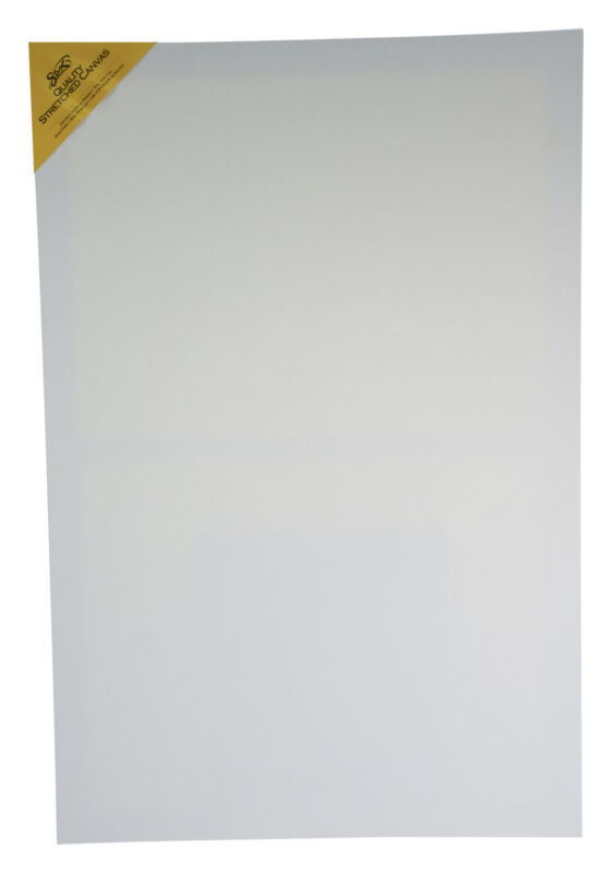 Sax Quality Stretched Canvas, 24 x 36 Inches, White