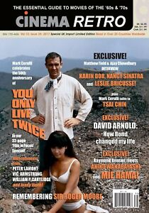 CINEMA RETRO #39 JAMES BOND YOU ONLY LIVE TWICE 50TH ANNIVERSARY ISSUE