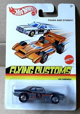 "2013 Hot Wheels ""Flying Customs"" Unpainted Zamac '69 Camaro"