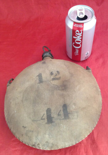 Vintage US Army Canteen Spanish American / Indian War Era